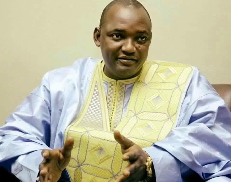 Photo de Gambie: Adama Barrow bientôt en France. Voici son agenda