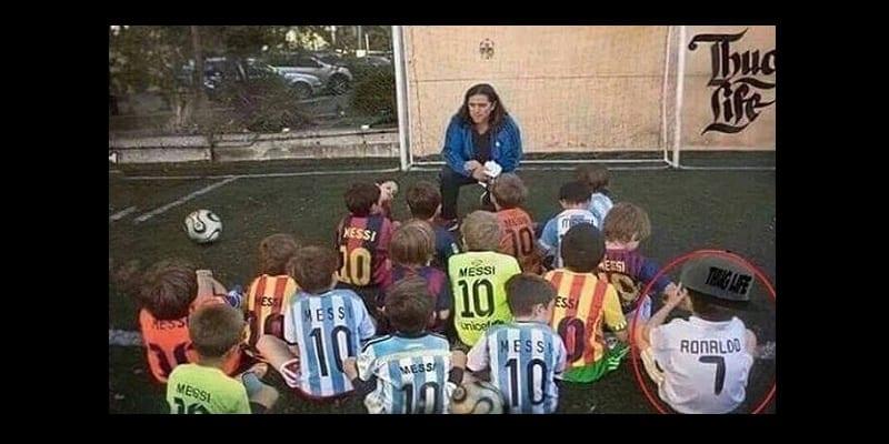 Photo de Argentine: Ce petit Argentin préfère Cristiano Ronaldo à Lionel Messi