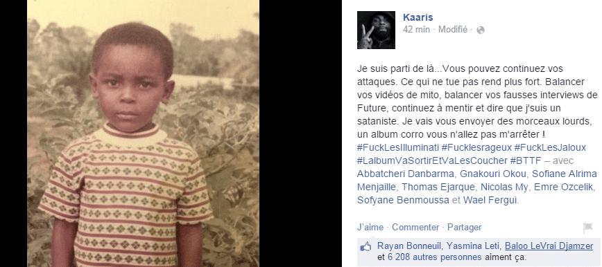 Photo de Découvrez le parcours émouvant de Kaaris : l'orphelin devenu le prince du rap français