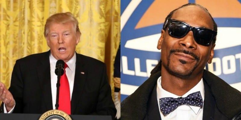 Photo de Donald Trump répond à Snoop Dogg après la sortie d'un clip controversé