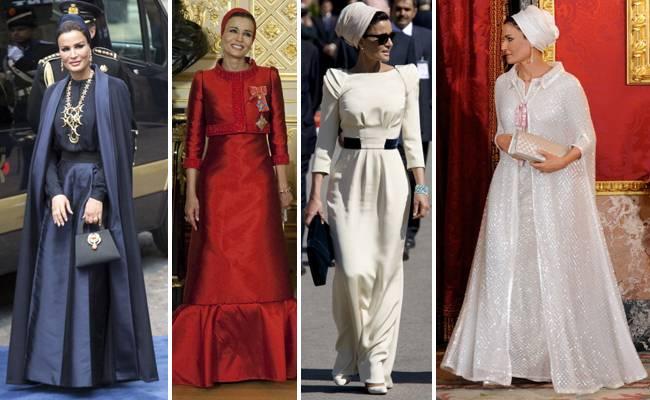 Photo de PHOTOS- A 56 ans, la première dame du Qatar bat les grands records de la mode