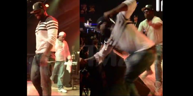 Photo de 50 Cent: Il frappe une fan en plein concert (PHOTOS/VIDÉO)