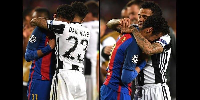 Photo de Après l'élimination du Barça face à la Juve, Dani Alves révèle ce qu'il a dit à Neymar