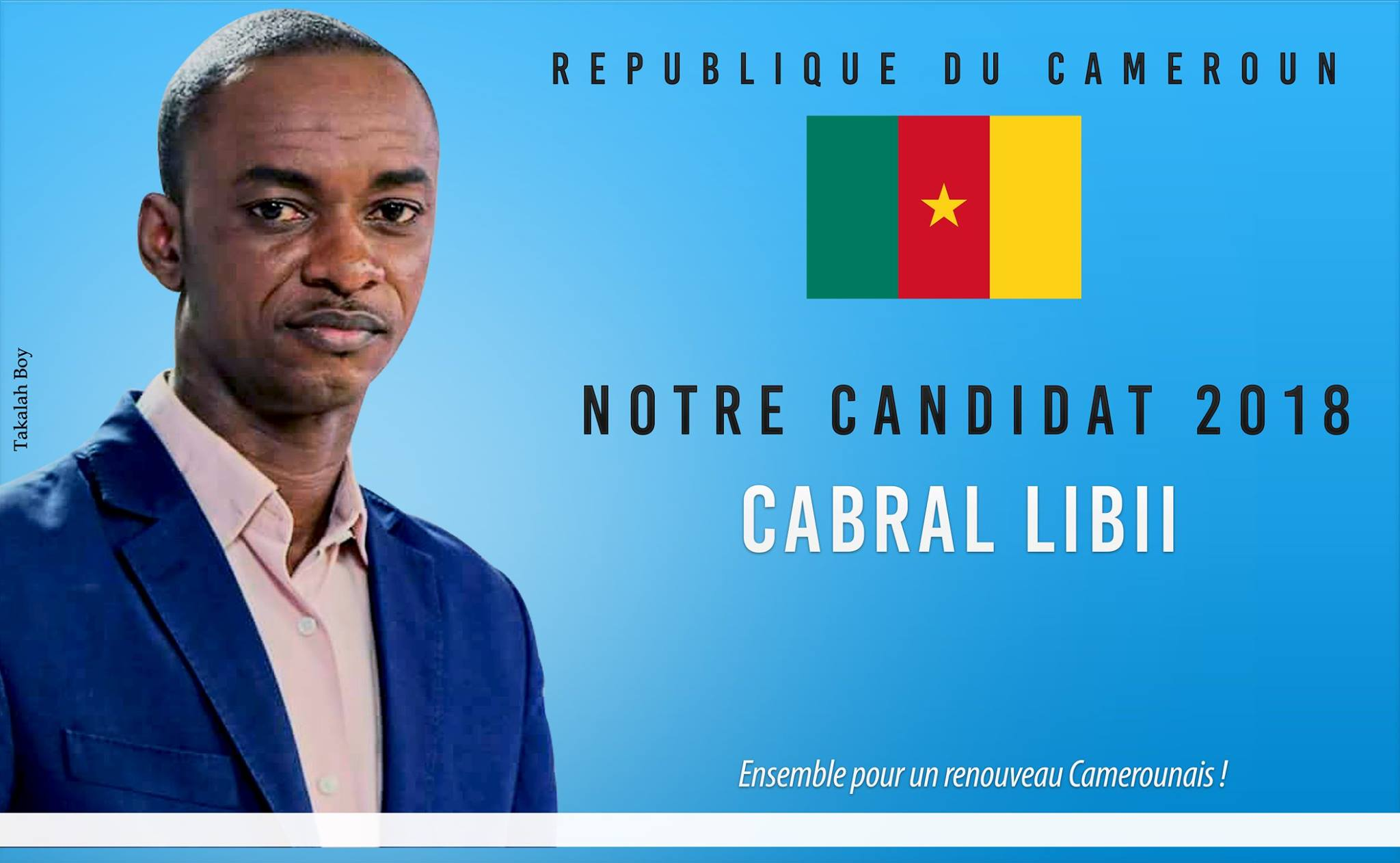 Photo de Inspiré de Macron, un jeune camerounais de 39 ans veut devenir président en 2018
