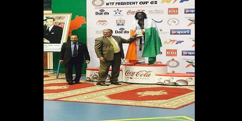 Photo de Taekwondo – Open du Maroc 2017: les Ivoiriens Cissé Cheick Sallah et Ruth Gbagbi remportent deux médailles d'or