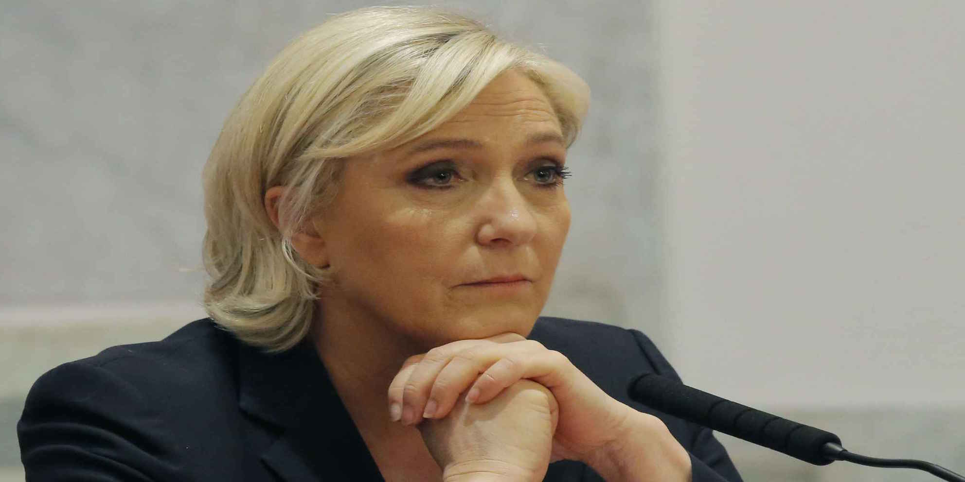 Photo de France: Marine Le Pen mise en examen pour ses tweets sur l'EI.
