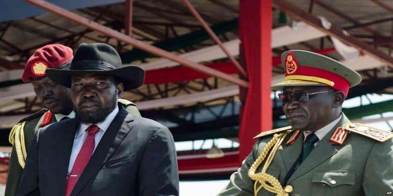 Photo de Soudan du Sud: l'ex-chef de l'armée de retour à Juba
