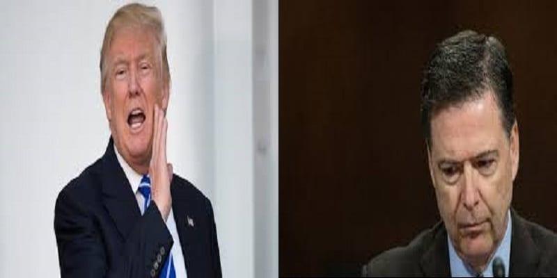 Photo de Donald Trump a limogé le directeur du FBI. Tempête politique à Washington