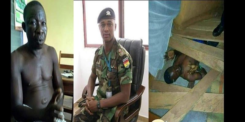Photo de Ghana: Des suspects arrêtés pour le crime horrible de l'officier militaire (PHOTOS)