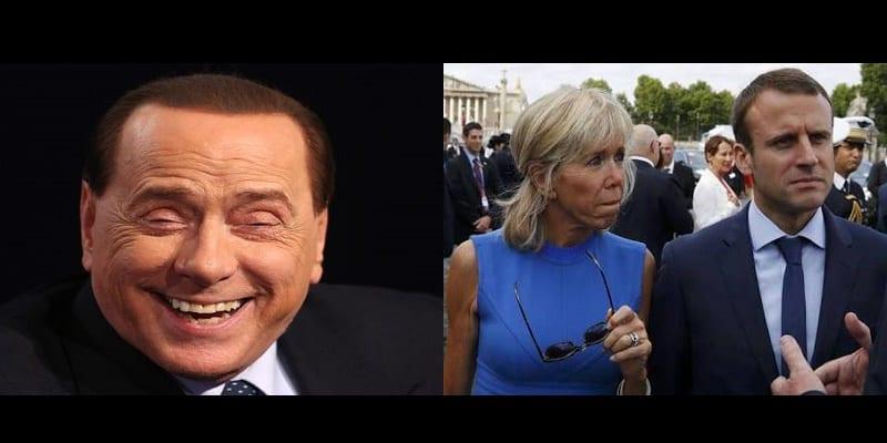 Photo de Italie: découvrez la blague de mauvais goût de Silvio Berlusconi sur le couple Macron