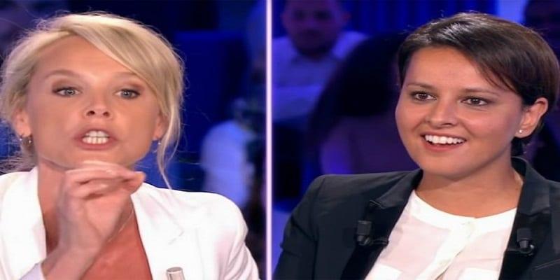 Photo de France: Najat Vallaud-Belkacem furieuse contre la chroniqueuse Vanessa Burgraff. Vidéo