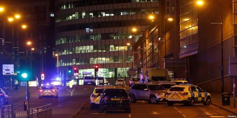 Photo de Angleterre: une explosion fait plusieurs morts et blessés, à Manchester lors d'un concert