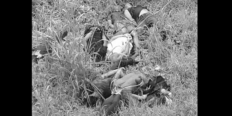 Photo de Des chrétiens attachés et abattus par les militants de Daech aux Philippines