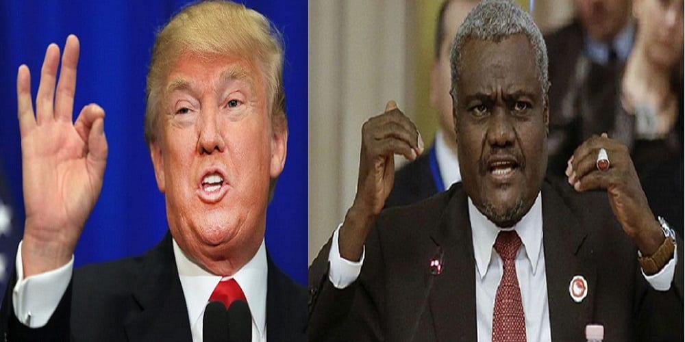 Photo de L'Administration Trump a t-elle refusé de recevoir le président de la commission de l'Union Africaine?