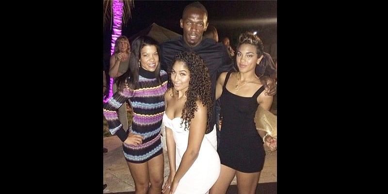 Photo de Usain Bolt ne connaît pas la différence entre une groupie et une bonne femme