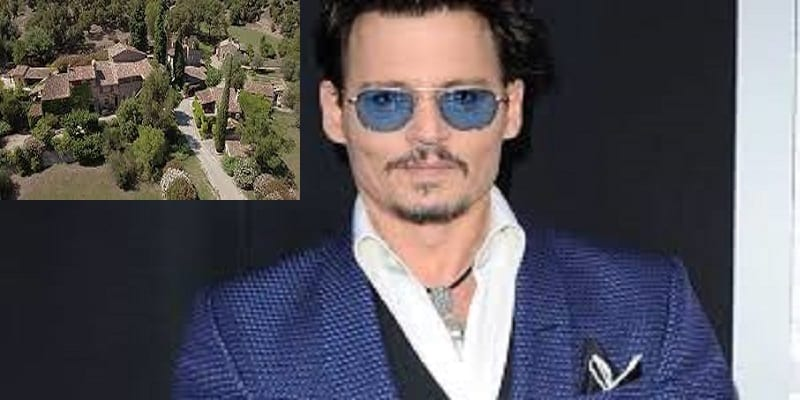 Photo de Pour des questions d'argent, Johnny Depp brade sa villa située au sud de la France