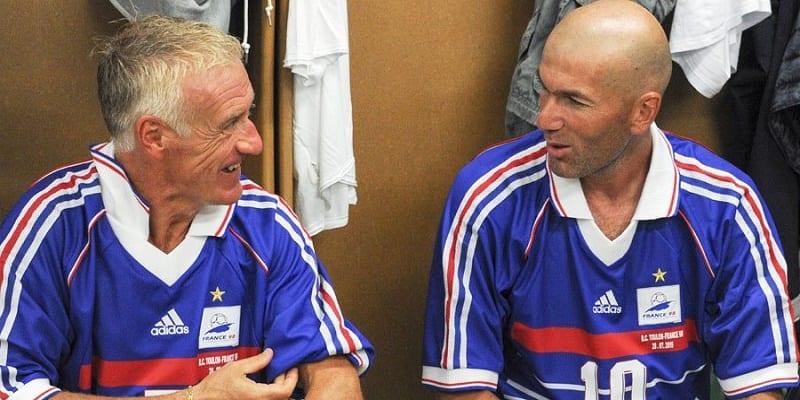 Photo de Football: les paroles touchantes de Didier Deschamps envers Zinédine Zidane