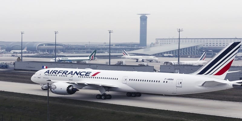 Photo de Sénégal : Un vol d'Air France fait une panne en plein vol