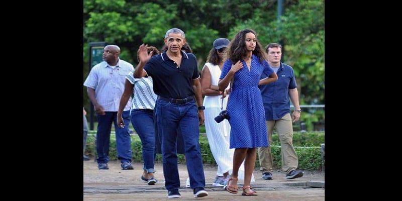 Photo de Barack Obama et sa famille prennent du bon temps à Bali…photos