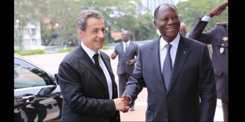 """Photo de Côte d'Ivoire: Nicolas Sarkozy accueilli comme un """"Roi"""" à Abidjan"""