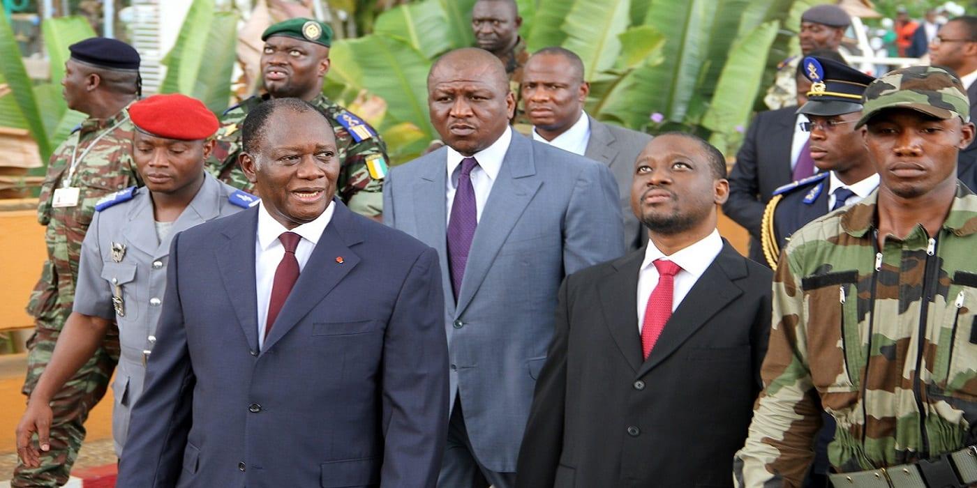 """Photo de Ouattara sur le CNT et les """"bruits"""" de Soro: """"Tous ceux qui se font des idées sur une transition, peuvent rêver. Il n'y aura pas de transition en Côte d'Ivoire"""""""