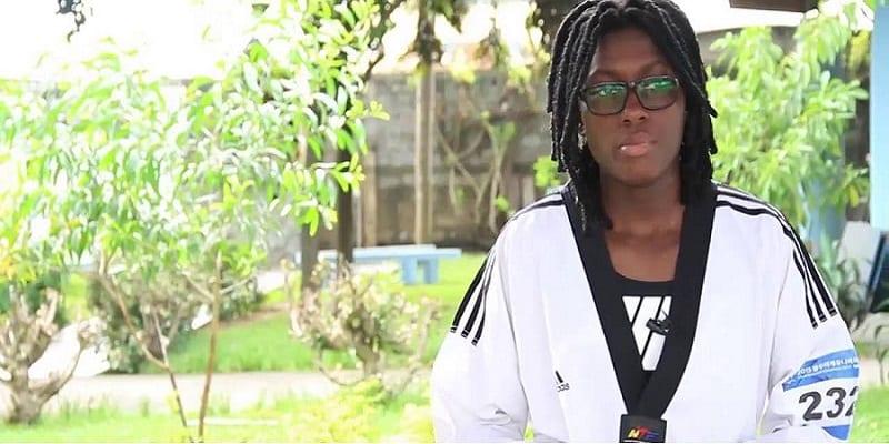 Photo de Taekwondo: L'ivoirienne Ruth Gbagbi, championne du monde dans la catégorie des -62 kg