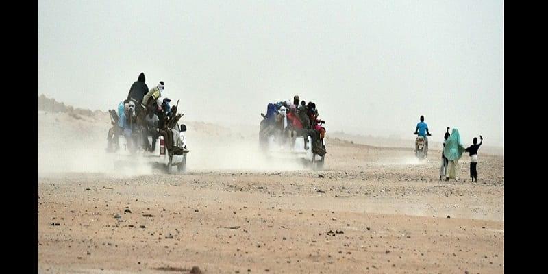 Photo de 44 migrants, y compris des bébés, meurent de soif dans le désert du Niger