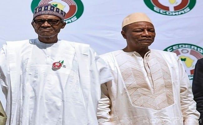 Photo de Le président Buhari adresse une correspondance à son homologue guinéen. La raison! (photo)