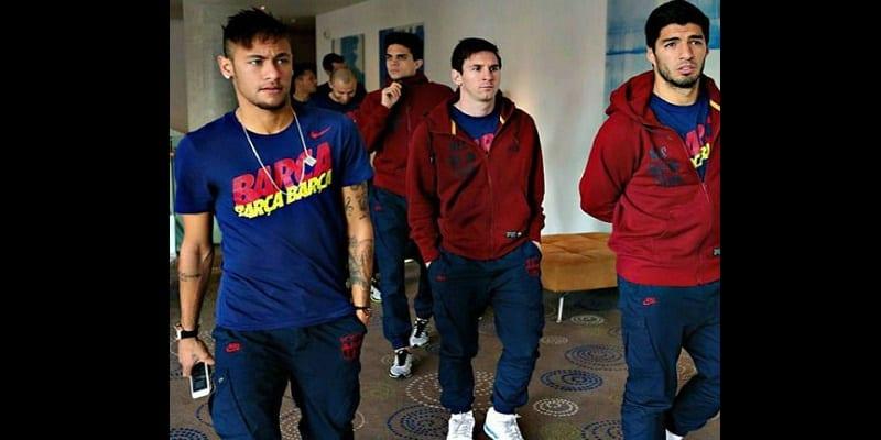 Photo de Neymar au PSG: Certains de ses coéquipiers lui mettent la pression