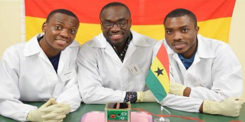 Photo de Le Ghana lance son premier satellite dans l'espace