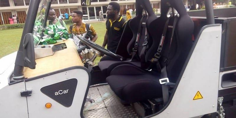 Photo de Inspiration : un groupe d'étudiants ghanéens fabrique un véhicule à énergie solaire (vidéo)