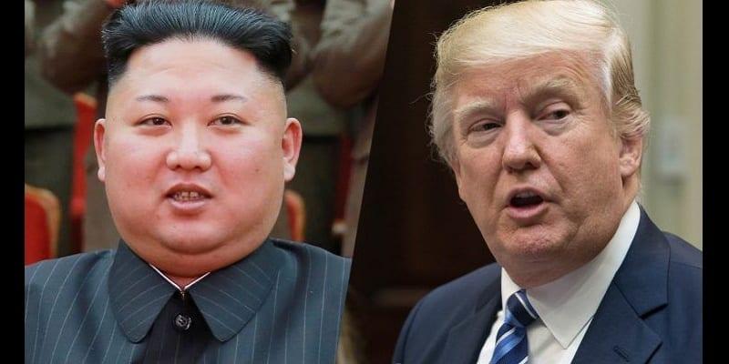 """Photo de Etats-Unis/ Corée du Nord: La """"guerre"""" se poursuit entre Donald Trump et  Kim Jong-un"""