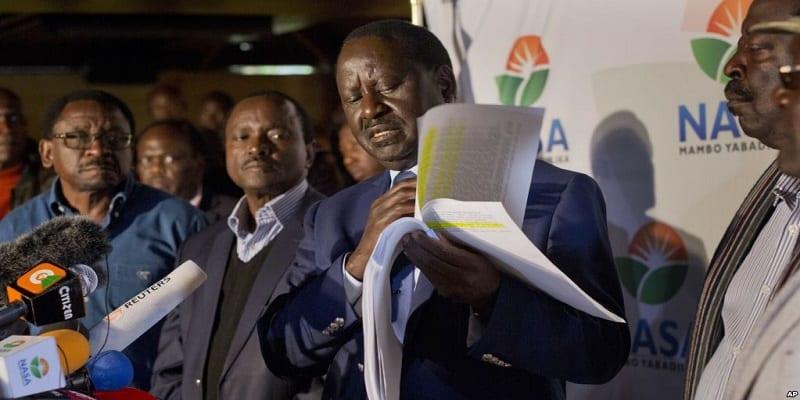 Photo de Kenya: Le recours de l'opposant Raila Odinga examiné par la cour suprême