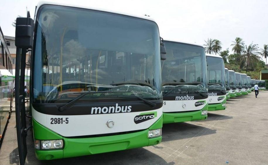 Photo de Côte d'Ivoire: arrivée de 94 nouveaux autobus à la Sotra