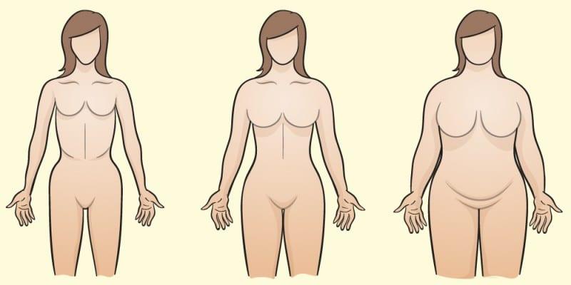 Photo de Votre morphologie détermine la vitesse à laquelle vous perdez du poids