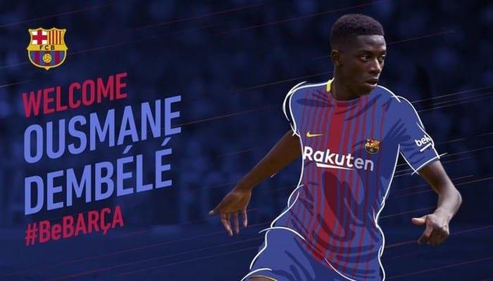 Photo de OFFICIEL – Ousmane Dembélé signe au Barça et c'est très cher