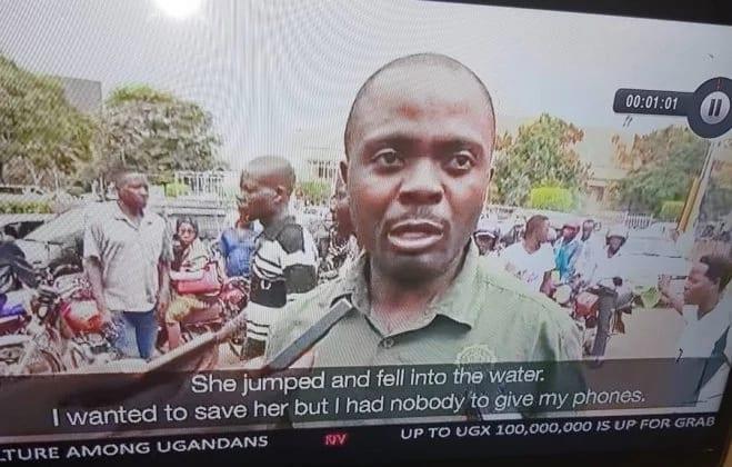 Photo de Ouganda : Il préfère protéger son téléphone que de sauver une femme qui se noie (vidéo)