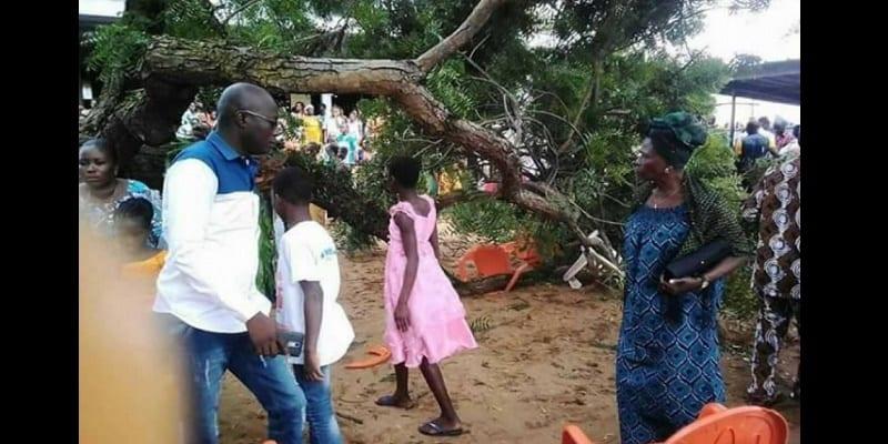 Photo de Côte d'Ivoire: deux accidents dans deux Eglises catholiques font des blessés