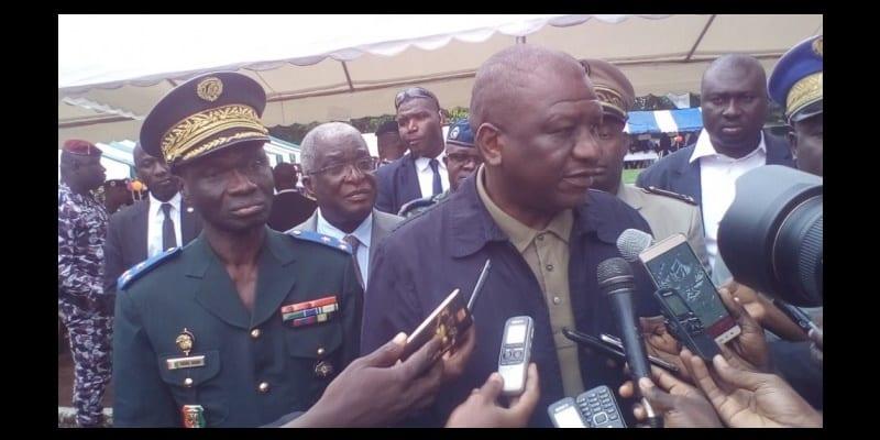 Photo de Côte d'ivoire: les promesses de Hamed Bakayoko aux forces de l'ordre lors de sa visite aux camps de Bouaké
