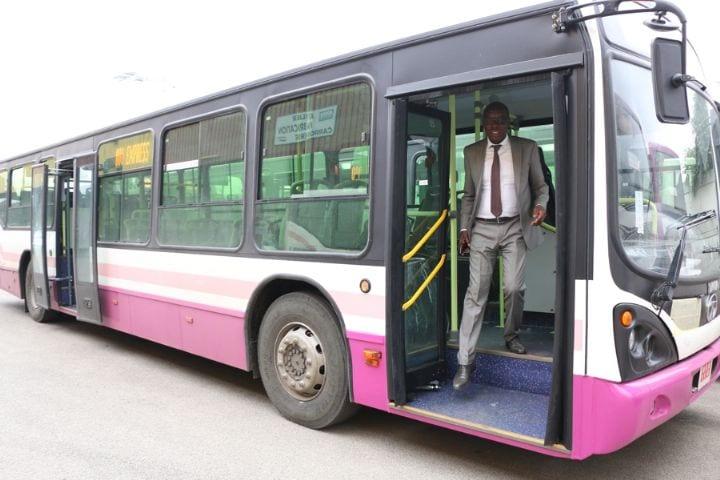 Photo de Transport à Abidjan : les lignes « EXPRESS » de la SOTRA sont de retour