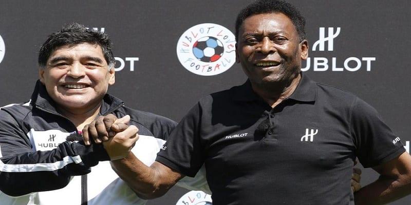 """Photo de """"Vous ne pouvez pas me comparer à Maradona """", dixit Pélé"""
