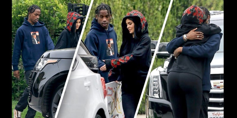 Photo de People: Kylie Jenner enceinte de Travis Scott, le s*xe du bébé révélé!