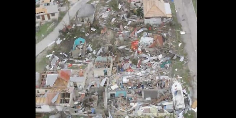 "Photo de L'île de Barbuda ""totalement dévastée"" par l'ouragan Irma (photos)"