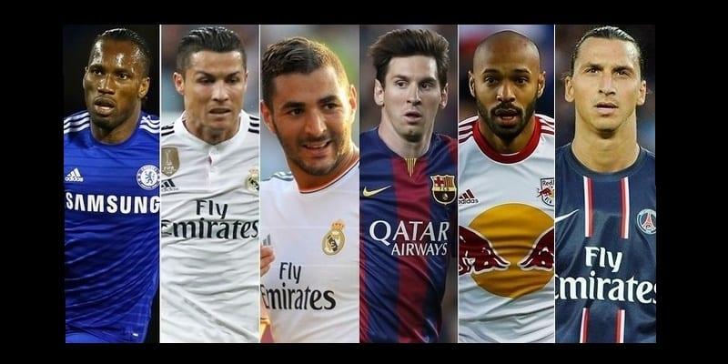 Photo de Classement: Top 10 des meilleurs buteurs de la ligue des champions