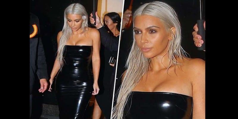 Photo de USA: Kim Kardashian fait sensation à la Fashion Week new-yorkaise…photos