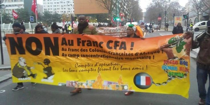 Photo de Afrique: Les Mouvements Anti-CFA prennent les rues