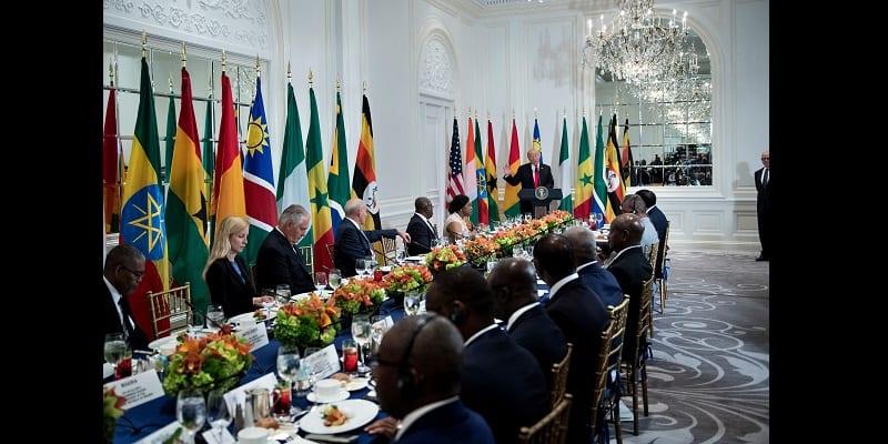 Photo de Assemblée générale de l'Onu: Trump fait une gaffe historique lors d'un déjeuner avec les dirigeants africains (vidéo)