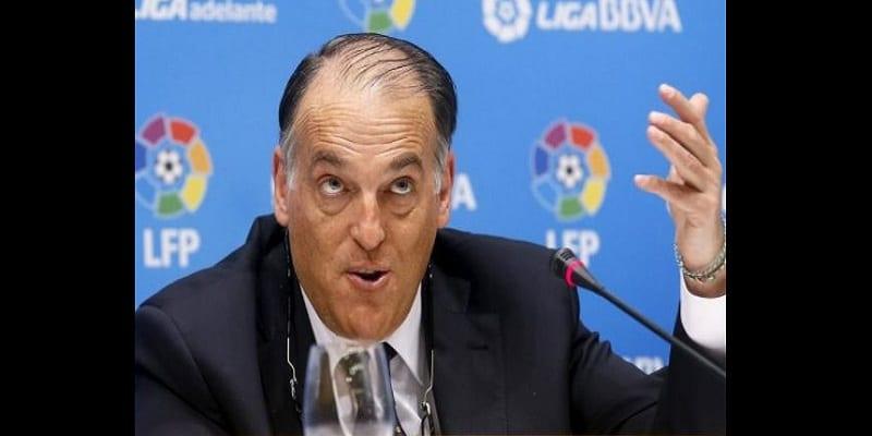 """Photo de """"Neymar a fait pipi dans la piscine"""", déclare le président de la Liga espagnole"""