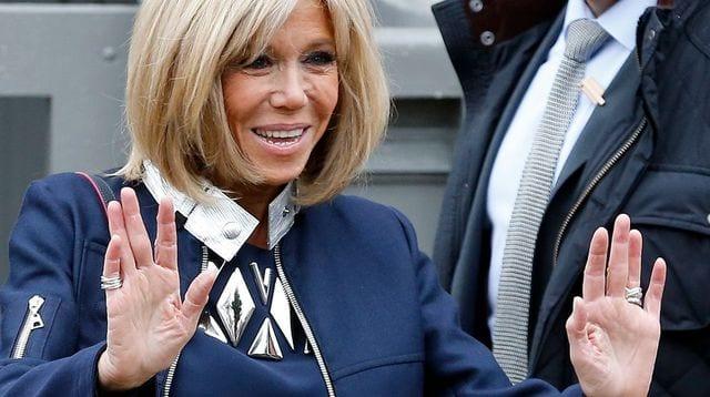 Photo de France : Brigitte Macron suscite l'indignation sur tweeter