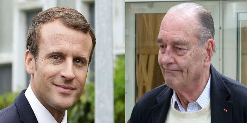 Photo de France: Découvrez le cadeau intime que Jacques Chirac a offert à Emmanuel Macron